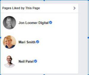לייקים בפייסבוק לעמודי תוכן רלוונטיים